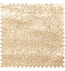 Beige color solid texture poly curtain main fabric