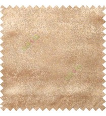 Light brown color solid texture poly curtain main fabric