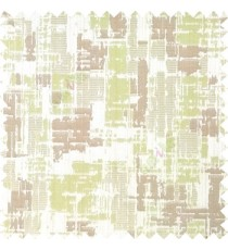 Green brown grey color complete texture vertical lines with polyester thick background main curtain