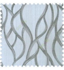 Black grey color vertical flowing stripes texture patterns snakes texture gradients lines with thick polyester fabric main curtain