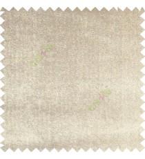 Cream color complete plain designless velvet finished chenille soft background main curtain