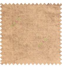 Walnut color complete plain designless velvet finished chenille soft background main curtain