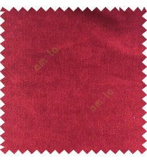 Bright maroon color complete plain designless velvet finished chenille soft background main curtain