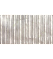 Light green vertical pencil stripes shiny surface small dots texture finished sheer fabric