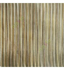 Gold beige brown color vertical chenille stripes horizontal lines busy lines sheer fabric