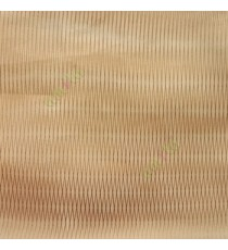 Brown color vertical thin stripes texture finished transparent net finished soft feel lightweight sheer fabric