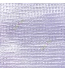 Purple vertical and horizontal stripes checks pattern transparent net finished surface sheer curtain
