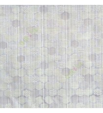 Grey beige color honeycomb hexagon geometric jute weaved pattern texture finished vertical thread lines polycotton main curtain