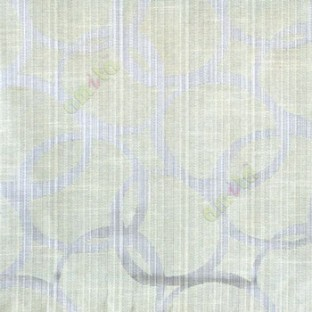 Grey beige color geometric circles vertical horizontal lines polycotton main curtain