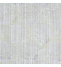 Grey beige elegant look floral leaf stem pattern rain drop scales two leaves in a stem polycotton main curtain