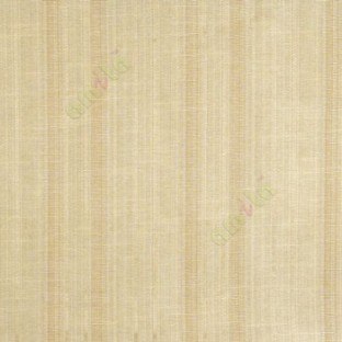 Brown cream color vertical texture bold stripes and horizontal thin short lines polycotton main curtain