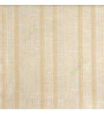 Cream  beige color vertical texture bold stripes and horizontal thin short lines polycotton main curtain