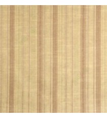 Brown beige color vertical texture bold stripes and horizontal thin short lines polycotton main curtain