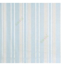 Blue color vertical texture bold stripes and horizontal thin short lines polycotton main curtain