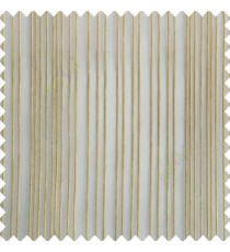 Beige cream color vertical stripes texture finished transparent net fabric polyester chenille sheer curtain
