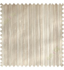 Brown horizontal thread lines poly sheer curtain designs