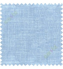 Aqua blue jute finish poly sofa upholstery fabric