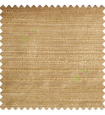 Light brown beige color complete texture horizontal lines texture gradients small dots weaving pattern polyester main curtain