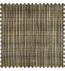 Black beige brown color vertical chenille soft fabric horizontal thin support lines transparent net fabric sheer curtain