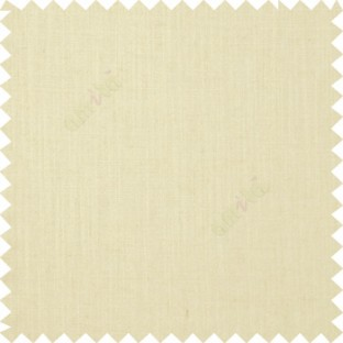 Beige color solid plain texture background designless fabric with thick surface linen main curtain
