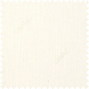 Half white color solid plain texture background designless fabric with thick surface linen main curtain