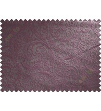 Brown purple trendy traditional poly main curtain designs