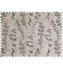 Brown matisse polycotton main curtain designs