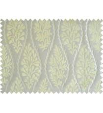 Green stencil polycotton main curtain designs
