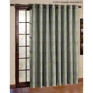 Green matisse polycotton main curtain designs