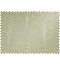 Green tree polycotton main curtain designs