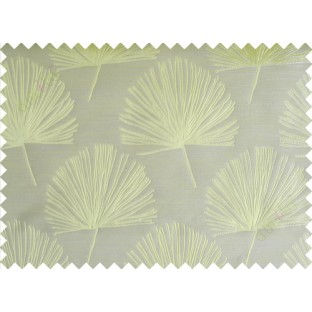 Green annapurna floral poly main curtain designs