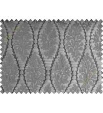 Dark grey stencil polycotton main curtain designs