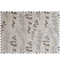 Dark grey matisse polycotton main curtain designs