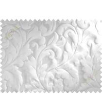Grey silver big motif poly main curtain designs