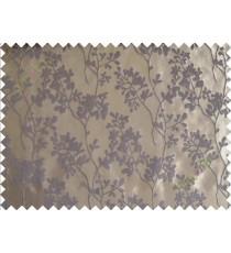 Brown beige mantisse polycotton main curtain designs