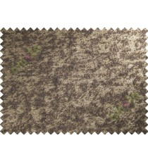 Chocolate beige brown color solid texture poly sofa fabric