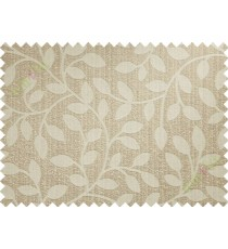 Beige long mantisse poly main curtain designs