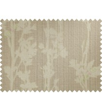 Beige hanging plant poly main curtain designs