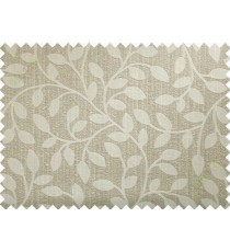Brown beige yellow long mantisse poly main curtain designs
