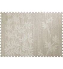 Beige floral poly main curtain designs