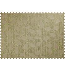 Brown green yellow long mantisse poly main curtain designs
