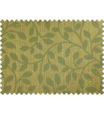 Brown yellow green long mantisse poly main curtain designs