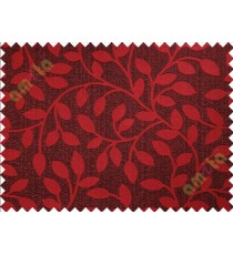Brown red brown long mantisse poly main curtain designs