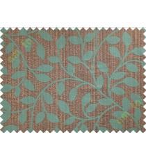 Brown blue brown long mantisse poly main curtain designs