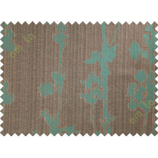 brown blue hanging plant poly main curtain designs