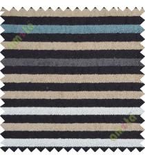 Black blue white horizontal stripes sofa sofa upholstery fabric