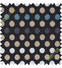 Black white blue small geometric sofa sofa upholstery fabric