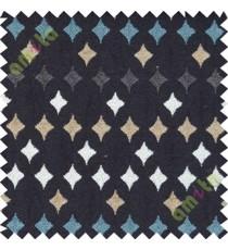 Black white grey geometric polycotton sofa sofa upholstery fabric