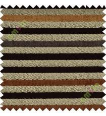 Dark brown grey horizontal stripes sofa sofa upholstery fabric