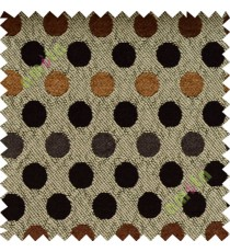 Black brown grey geometric sofa sofa upholstery fabric